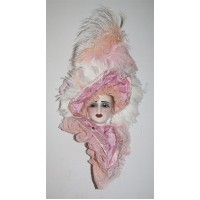 Unique Creations Limited Edition Victorian Lady Face Mask Wall Hanging Decor   401575127560