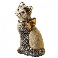 De Rosa - Cat with Ribbon Figurine   362414028680