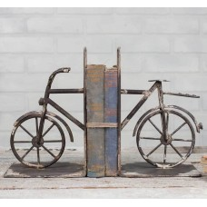 NEW Rustic Metal Bicycle Bookends Farmhouse Modern   163185196599