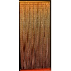 Bamboo Beaded Curtain Hawaiian Tropical Natural Door Way Doorway Room Divider   273367234968