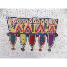 DOOR HANGING VALANCES WINDOW DECOR INDIAN TORAN VINTAGE PATCHWORK z454   332761113839