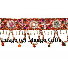 Indian Toran Ethnic Door Valance Vintage Wall Window Decor Hanging Home Decor   153113542351