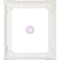 "Prima Marketing Resin Decor Frame 8""X10"" White 655350588267 649242827312  153139958609"