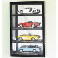 1:18 Scale Diecast Car Model Display Case Rack Holds 4 * LED LIGHTS * 98% UV   302333858069