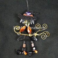 Ganz Crystal Expressions Halloween Witch Sun Catcher Ornament Standing    311907209888