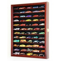 Hot Wheels Matchbox Car Display Cases Wall Rack Cabinet - Lockable 98% UV   371967601828