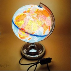 360° Rotating Globes Earth Ocean Globe World Geography Map Desktop Decor LED 699985974521  302799132360