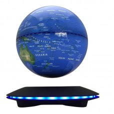 "6"" LED Magnetic Levitation Globe World Map Floating Levitating Rotating Earth    614993338561  162865485221"