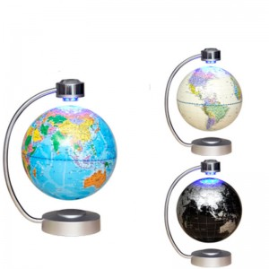 8 inch Magnetic Levitation Floating World Business Globe Map Gift Desk Education   282764112929
