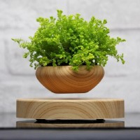 Floating Bonsai Magnetic Levitation Air Plant Pot Mini Plasti Potted Levitating 7111623387652  253782025607