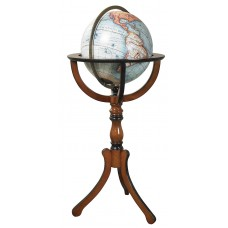 "Large Library Floor Globe on Wood Stand 38"" Vaugondy World Nautical Office Decor 781934576266  292550078049"