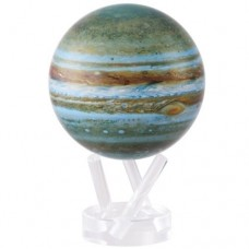 "Mova Globe Planets JUPITER 4.5"" with acrylic base Self Rotating Globe   183377298942"