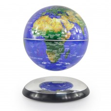 "Novel Decor Levitation Technology 6"" Magnetic Rotating Globe Floating Levitating   172216405493"