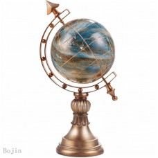 World Globe Atlas Map With Swivel Stand Geography Table Desktop Decor For Home  699947608709  113135190161