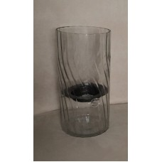 "Pier 1 Imports 12"" Glass Hurricane Candle Holder Item 2605545   283104615734"