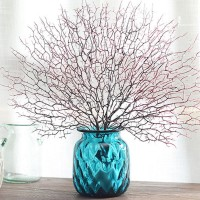 Peacock Coral Branches Simulation Indoor Modern Decorative Branches Home Diy Art   162884176856