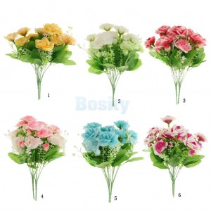 Various 14-Flower Handmade Silk Rose Flower Home Bridal Wedding Party Decor   302479785976