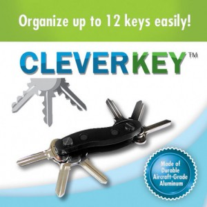 Clever Key As Seen On TV Key Up to 12 Keys-Black   153059354656