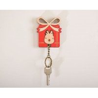 NEW DAZZY LIFE. KEY HOUSE. DEEREST GIF. NEW CONCEPT KEY CHAIN(SOLID WOOD, BRICH) 4713510870273  223098037738