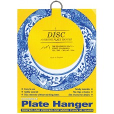 "Hang It Up Invisible Plate Hanger 4""-For Plates Up To 12"" Diameter (3Pk) 648501000145  262931806492"