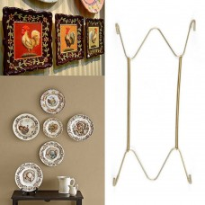 "W Type Hook 8"" to 16""Inchs Walls Display Plate Dish Hanger Holder For Home Decor   312181675287"