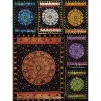 Indian Zodiac Sunsgin Small Tapestry Poster Wall Hanging Throw Cotton Home Decor   123178135309