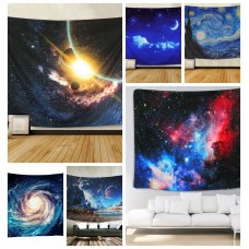 Wall Hanging Tapestry Psychedelic Galaxy Planet Tapestry Bedspread Home Decor   253246361169