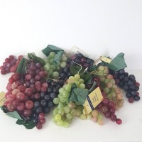 Artificial Plastic Grape Lot of 11 Green Purple Crafting Home Decor New    323371471006