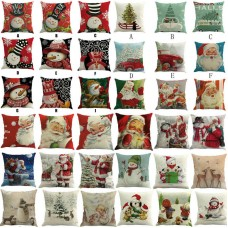 Christmas Printing Dyeing Sofa Bed Home Pillow Cover Cushion Cover Nice Cover    182951641761