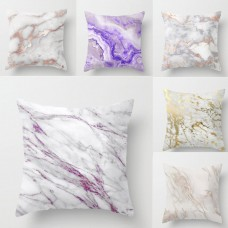 Geometric Marble Texture Throw Pillow Case Cushion Cover Home Sofa Decor Comely   153138948644
