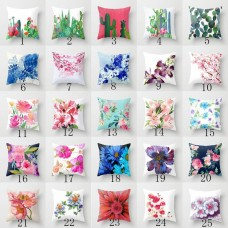 Plants Cotton Linen Waist Throw Pillow Case Cushion Covers Home Sofa Bed_DecorsM   253768708653