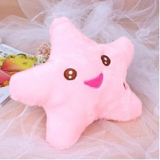 Smile Star LED Luminous Colorful Light Pillow Cushion Bolster Plush Cotton Gift   332764427547