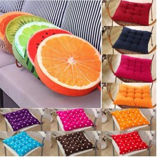 Tie On Soft Chair Cushion Seat Pads Pillow Garden Patio Playroom Home Sofa Decor   162670922392