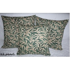 William Morris &Co Morris WILLOW BOUGH Cushion Cover /Genuine Fabric / Green   132505291515