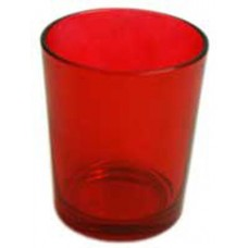 48 Red Glass Tealight Candle Holders Wedding Party Birthday Anniversary Event   260856011266