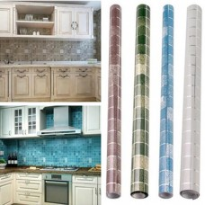 Wall Waterproof Mosaic Kitchen Sticker Self Adhesive Paper Tile Floor Bathroom D   202267375844